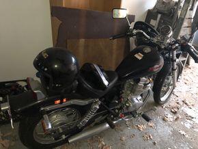 Lot 031 1986 450cc HONDA REBEL GRAY MOTORCYCLE Low Mileage PICK UP IN GARDEN CITY