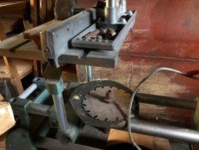 Lot 033 SHOP SMITH Lathe 70L x 35H x 15D PICK UP IN NORTH BABYLON