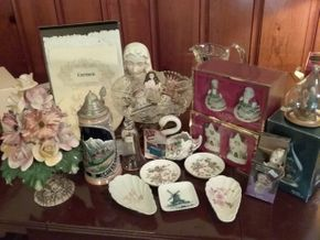Lot 002 Lot Of Decorative Items Such as Crystal  Lenox Limoges PICK UP IN WESTBURY