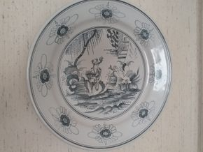 Lot 019 Large Tiffany Decorative Charger 26.5 Diameter PICK UP IN MANHASSET
