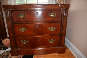 Lot 027 Night Chest 3 Drawer 31.5H x 36W x 19L PICK UP IN MALVERNE,NY