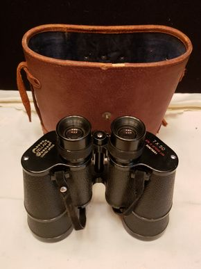 Lot 021 Stellar Binoculars 7x50 w/Case PICK UP IN EAST ELMHURST ON AUG 19TH