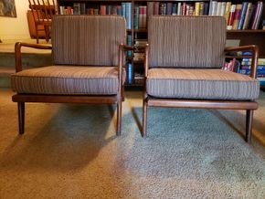 Lot 009 CC-PU/ of Mid Century Chairs PICK UP IN EAST ELMHURST ON AUG 19TH