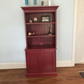 Lot 092 Pottery Barn Book Shelf 68H x 18W x 31L PICK UP IN LAWRENCE