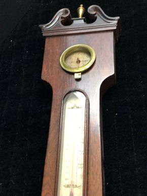 Lot 154 Antique Barometer 43Hx12W