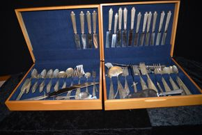 Lot 026 PICK UP IN RVC Large Lot of Sterling Flatware PICK UP IN ROCKVILLE CENTRE, NY