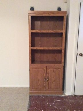 Lot 025 Tall Cabinet 12Dx71xT30 ITEM MUST BE PICKED UP IN GARDEN CITY