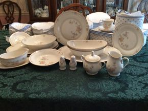 Lot 063 Lot of Noritake Ivory China Cervantes, Pattern 7261 ITEM CAN BE PICKED UP IN GARDEN CITY