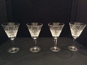 Lot 057 Lot of 4 Maeve Waterford Crystal Water Glasses ITEM CAN BE PICKED UP IN GARDEN CITY