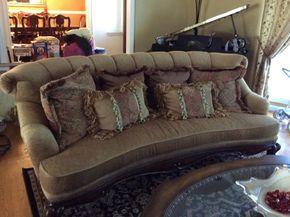 Lot 010 Custom Sofa 8'L x 3'T x 40
