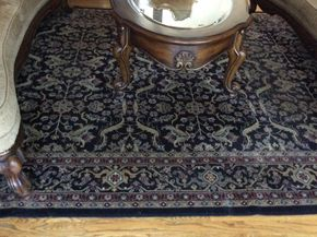 Lot 013 Man Made Rug 130 inches x 94 inches ITEM MUST BE PICKED UP IN GARDEN CITY