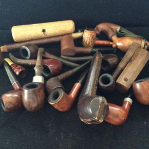 Lot 055 Lot of Pipes ITEM CAN BE PICKED UP IN DOUGLASTON