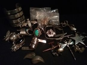 Lot 061 Lot Of Sterling Silver Pieces PICK UP IN N BABYLON