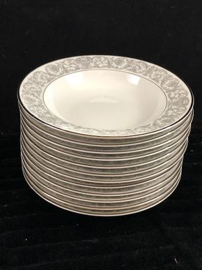 Lot 174 Lot of 12 Rosenthal Soup Bowls