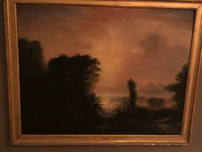 Lot 151 Tonalist Landscape - unsigned and restored 14Hx18W