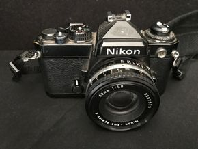 Lot 011 Nikon Series E Camera. Not Tested. PICK UP IN INWOOD.