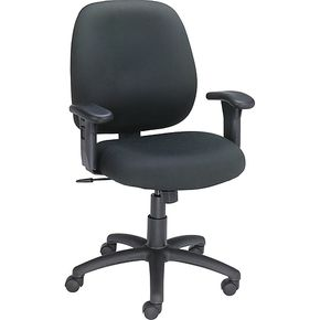 Lot 012 Black Office Task Chair ITEMS MUST BE PICKED UP IN LONG BEACH