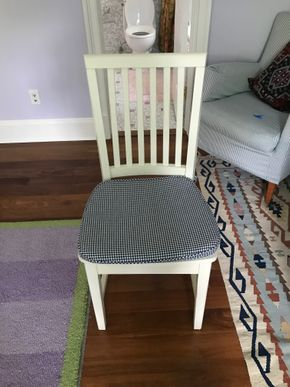 Lot 095 Pottery Barn Desk Chair PICK UP IN LAWRENCE