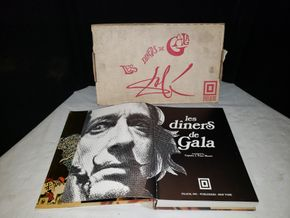 Lot 012 Les Diners de Gala Hardcover Book  translated by Capitan J. Peter Moore PICK UP IN MINEOLA,NY