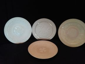 Lot 053 Lot Of 4 Belleek Plates PICK UP IN ROCKVILLE CENTRE