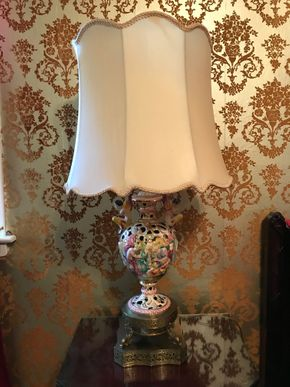 Lot 111 Decorative Lamp. 31.5 H. PICK UP IN BELLMORE.