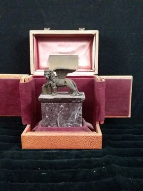 Lot 041 Cannes 1988 International Film Festival Award for a Group Film 5.5H x 3.5W x 5.5L Box Size