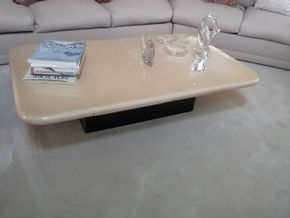 Lot 009 Lacquer Coffee Table 13.5H x 35.5W x 59L PICK UP IN MANHASSET