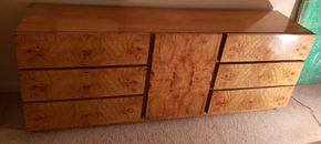 Lot 027 6 Drawer Dresser Cabinet w/3 Drawers 30H x 78W x 18D PICK  UP IN FOREST HILLS, NY