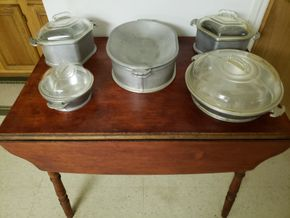 Lot 029 DELIVERY Lot of 5 Vintage Guardian Service Cookware Heavy-Gauged Aluminum PICK UP IN WHITESTONE, NY