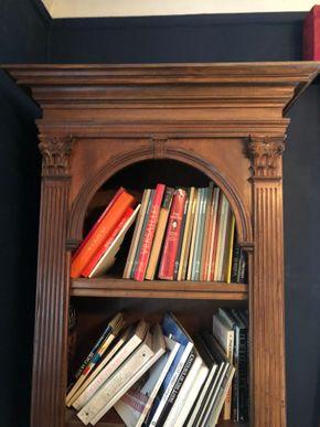Lot 070 Pair of Stuart/Widdicomb Style 1Wood Bookshelves 4 Open Shelves and 1 closed shelving below