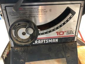 Lot 017 Craftsman 10