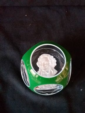 Lot 058 Baccarat Crystal Paperweight PICK UP IN OLD BROOKVILLE