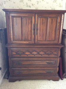 Lot 011 Sumter Cabinet Company Dresser 55H x 19W x 41 5L