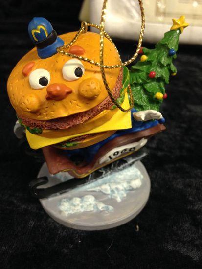 Mcdonalds Christmas Ornament.Lot 019 Lot Of 6 Mcdonalds Christmas Ornaments Speedee All The Way
